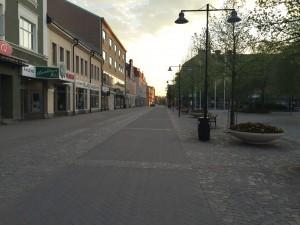 Katrinholm in the evening.